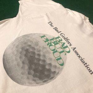 Bad Golfers Associations Vintage Tee